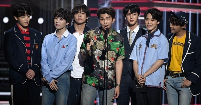 Tre nomination per i BTS agli MTV European Music Awards 2019!