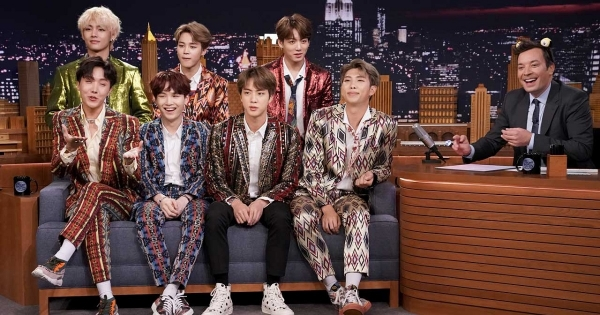 "La serata dei BTS al ""Tonight Show"" di Jimmy Fellon"